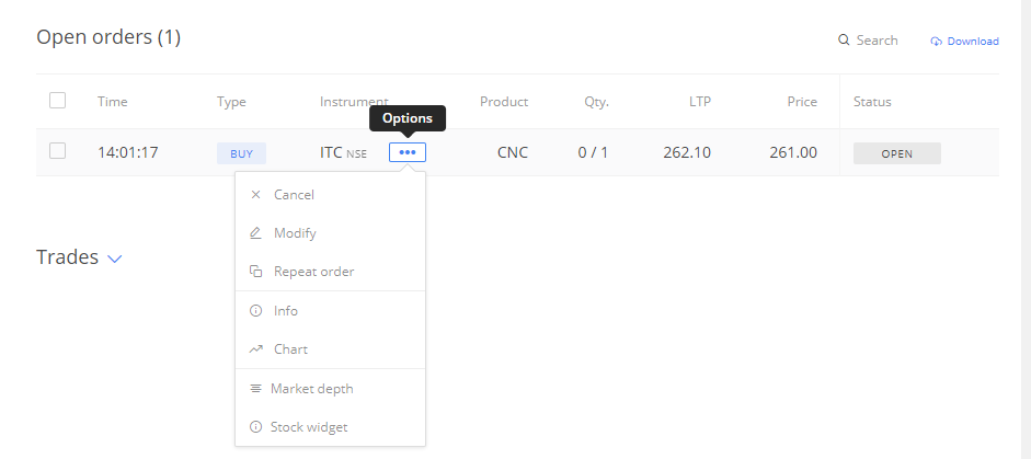 The Trading Terminal – Varsity by Zerodha