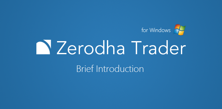 Zerodha Trader - Brief – Z-Connect by Zerodha Z-Connect by