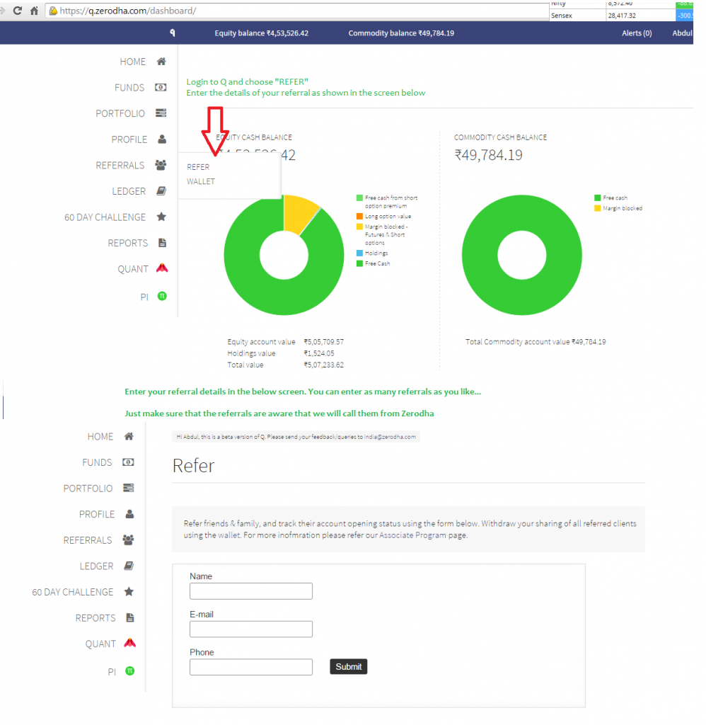 Zerodha Partner Program - Refer Clients – Z-Connect by