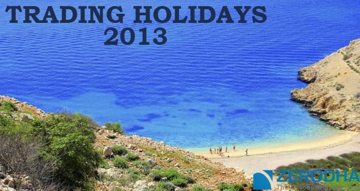 Trading Holidays