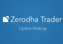 How to trade option strategies in zerodha