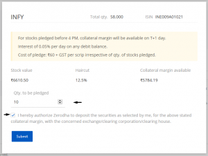 Online pledging of stocks for trading F&O – Z-Connect by