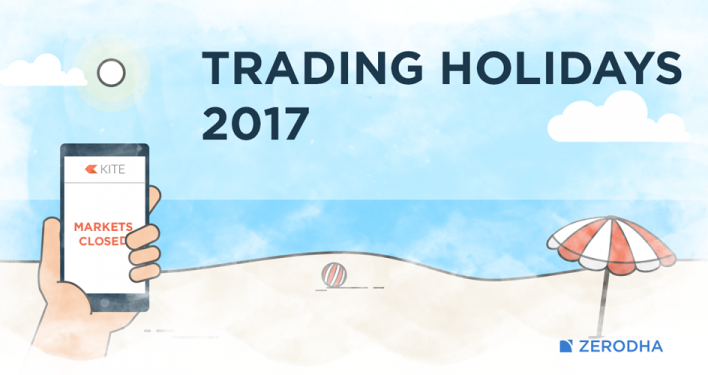 trading holiday calendar 2017