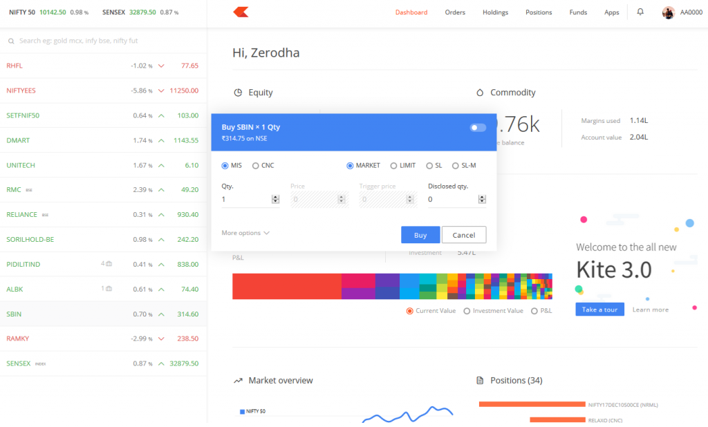 Kite 3 0 - Everything just got better! – Z-Connect by Zerodha Z