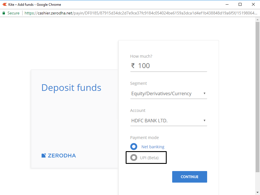 UPI, now live at Zerodha – Z-Connect by Zerodha Z-Connect by Zerodha