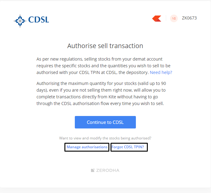 Cdsl Introduces Pin Based Pre Authorisation For Selling Stocks Z